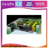 Slide niños Juegos de plástico equipo del patio interior Soft Play