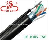 Numero 6 e 8 tipo dei gatti del cavo di dati del cavo CAT6 della rete dei conduttori