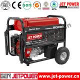 генератор нефти генератора 5kw бензинового двигателя 4.5kw портативный