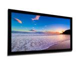 """"""" экран проекции фикчированной рамки 16:9 150 акустически прозрачный плоский с черной границей бархата"""