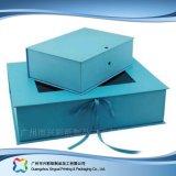 Cadre de empaquetage en cuir de luxe pour le produit de beauté de bijou de nourriture de cadeau (xc-hbg-017)