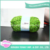 Fornece mão tricot de tamanho personalizado de fio PP Viscose acrílico