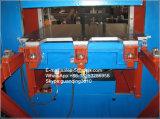 Tipo de marco prensa de vulcanización del cristal de exposición para los sellos de goma