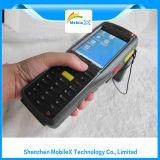 Coletor de dados portátil com impressão digital, leitor da freqüência ultraelevada RFID
