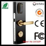 Bloqueo de puerta elegante del hotel de la tarjeta del bloqueo de puerta de la seguridad de la mortaja del estándar europeo de Orbita RFID