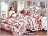 Poly plaine de jeu de literie en coton de collections de l'hôtel Le linge de lit