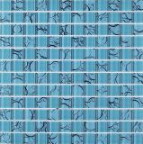 유리제 모자이크 타일 꽃 패턴 장식적인 지면 도와