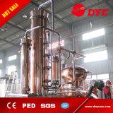Distillatore di rame rosso dell'alcool dell'acciaio inossidabile di alta qualità con la torretta di riflusso