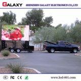 Visualización de LED del coche/de los carros/el panel/pantalla/cartelera de P6/P8/P10 para la publicidad móvil, acontecimiento, alquiler