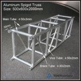 Armature carrée en aluminium de concert de broche pour l'éclairage