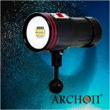 Unterwasseratemgerät-Tauchen-wasserdichtes video helles Beleuchtungssystem für Rand-Fotographie des Tauchens-Sport-HD