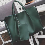 Верхняя часть затаврит женщин большой сумкой он-лайн покупка мягкий мешок Tote с бумажником Sy8180