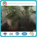 Vetro di vetro decorativo acido libero della costruzione