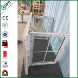Oscilación plástico Windows del impacto del huracán de la ventana del marco