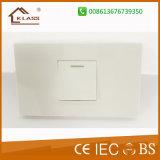Кнопка одобренная Ce гарантии 25years Samll 1gang освещая электрический переключатель