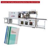 Het boek en het Tijdschrift krimpen de Machine van de Verpakking (chsl-5545)
