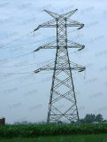 Torre de transmisión de potencia de acero galvanizado