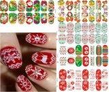 Модный стикер ногтя стикеров искусствоа ногтя снежинки рождества