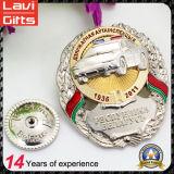 Изготовленный на заказ эмаль золота металла/значок армии/воиска/сувенира/полиций отсутствие минимального заказа