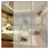Super Clear Pattern Glass, Low-Iron Pattern Glass, verre laminé pour salle de bain