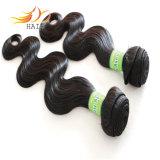 7A 100%のベトナム人のRemyの毛ボディ波の自然な毛