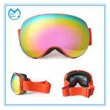 L'anti nebbia del PC quadrato generale mette in mostra gli occhiali di protezione di vetro per lo snowboard