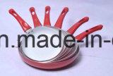 Сковорода покрынная ручкой алюминиевая Non-Stick для Cookware устанавливает Sx-A025
