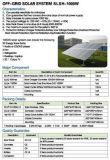 태양 떨어져 격자 전원 시스템 1000W 해결책