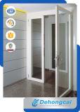 Белая дверь PVC профиля с Tempered стеклом