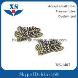袋のハードウェアのカスタム金属のブランドのロゴのラベル
