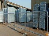 barriera galvanizzata 1100X2200mm di controllo di folla con i piedi piani