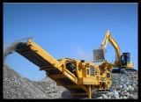 Mobil Jaw/impacto/Triturador de cone de pedra dura/Granito/Basalto/Pavimento