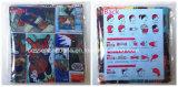 中国の工場製造者はロゴ漫画によって印刷されたポリエステル魔法の紫外線保護Necktubesのバンダナをカスタマイズした