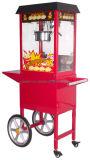 Máquina de palomitas de maíz recién actualizado con Troylley (ET-POP6A-RC).