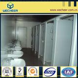 Huis van de Container van het Comité van de Sandwich van Ce het Standaard Prefab voor Badkamers/Toilet