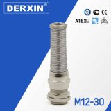 M12-M30 Waterproof spiral Long Thread EMC Metal Cable Gland