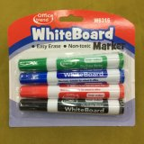 Crayon lecteur de borne de téléconférence avec le balai 2+1, crayon lecteur de borne sec de gomme à effacer W6312 réglé