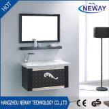 Nouveau meuble de salle de bains en acier inoxydable design