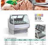 Vetrina della visualizzazione del gelato dalla Cina