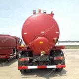 Sinotruk HOWO Marca 10tons succión de aguas residuales de camiones