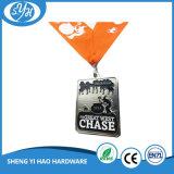 中国の創造的なデザインリボンが付いている柔らかいエナメル亜鉛合金メダル