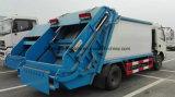 La compresse d'ordures de Dongfeng 8 Cbm et transportent 8 que les déchets de m3 rassemblent le camion