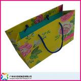 يطبع ورقيّة تسوق شركة نقل جويّ يعبّئ حقيبة مع مقابض ([إكسك-5-025])