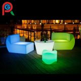 Muebles LED cómodos Diseño moderno Sofá iluminado de la barra del sofá del sofá