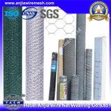 세륨, SGS, RoHS는 표시한다 높은 장력 직류 전기를 통한 PVC에 의하여 입힌 6각형 철망사 (Anjia-106)를