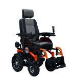 Couleur jaune de fauteuils roulants de courant électrique