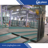 miroir en verre d'argent vert à couche double de peinture de 2mm pour la gymnastique