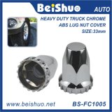 Cubiertas Quick Silver Chrome carro plástico de tuercas de seguridad