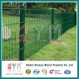 Загородка ячеистой сети /868 Coated двойной проволочной изгороди PVC двойная для конструкции
