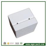 Kundenspezifischer hergestellter weißer hölzerner Kasten für Speicherung